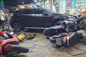 Danh tính nữ tài xế lái Mercedes tông gục hàng loạt xe, người ở TPHCM
