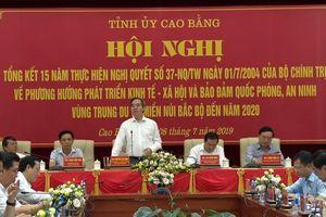 Ông Nguyễn Văn Bình: Cao Bằng cần chú trọng hạ tầng giao thông