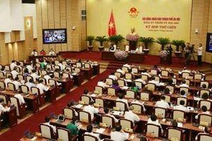 Khai mạc kỳ họp thứ chín, HĐND thành phố Hà Nội khóa XV