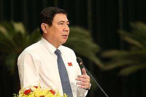 Chủ tịch TP.HCM: 'Không nhân nhượng với những cán bộ tha hóa'