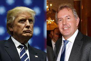 Ông Trump: 'Nước Mỹ không còn quan hệ với đại sứ Anh'