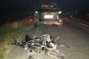 Đau lòng, xe hơi tông nát xe đạp điện làm 3 trẻ em tử vong