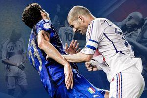 Zinedine Zidane và cú húc đầu rung chuyển lịch sử bóng đá