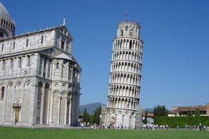 Thực hư tháp Pisa nghiêng ít hơn vào mùa hè