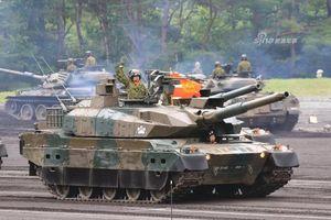 Điểm danh dàn xe tăng cực xịn của Nhật dưới chân núi Phú Sĩ