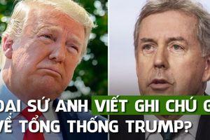 Trong mắt đại sứ Anh, chính quyền ông Trump 'không hiệu quả, thiếu năng lực'