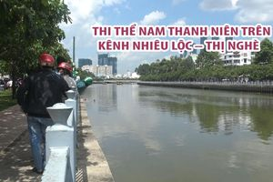 Phát hiện thi thể nam thanh niên trên kênh Nhiêu Lộc - Thị Nghè
