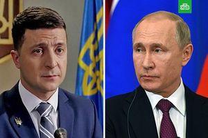 Tổng thống Ukraine đề nghị gặp ông Putin