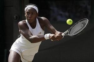 'Thần đồng' Cori Gauff dừng bước phiêu lưu tại Wimbledon