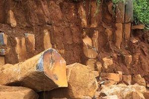 Điều tra vụ khai thác đá trái phép trong khu vực đất quốc phòng