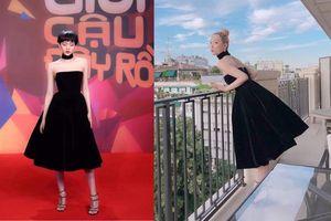 Hiền Hồ 'cố tình' chọn váy giống Sulli: liệu búp bê Việt có đọ nổi mỹ nhân của K-pop ?