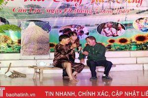 Huyện đầu tiên của Hà Tĩnh tổ chức thi 'sống vui, sống khỏe' cho người cao tuổi