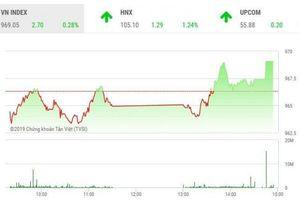 Chứng khoán ngày 9/7: VN-Index 'thoát hiểm', đóng cửa mức cao nhất ngày