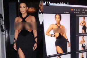 Bộ jumpsuit táo bạo với chi tiết cắt xẻ vòng 1 phản cảm gây chỉ trích trên mạng