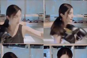Đoàn phim '355' công bố clip Phạm Băng Băng tập boxing, chuẩn bị chiến đấu với Jessica Chastain, Lupita Nyong'o
