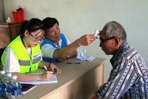 Thanh Hóa: Hơn 700 người được khám bệnh, cấp phát thuốc miễn phí