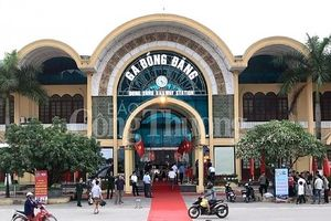 Ga đường sắt quốc tế Đồng Đăng (Lạng Sơn) trở thành điểm du lịch