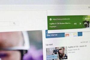 Google thử nghiệm nút phát/tạm dừng video cho Chrome