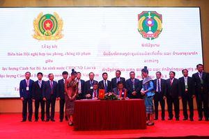 Việt Nam và Lào tăng cường hợp tác phòng chống tội phạm