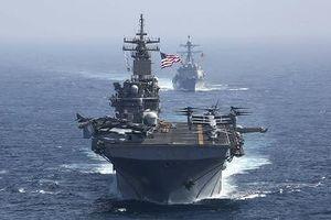 Mỹ muốn lập liên minh quân sự ngoài khơi Iran và Yemen