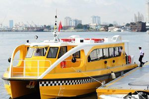 Đề nghị có buýt đường thủy vì 'sông Hồng đẹp hơn sông Sài Gòn'