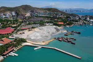 Nhiều dự án lấn biển xây biệt thự, bến du thuyền xé nát vịnh Nha Trang