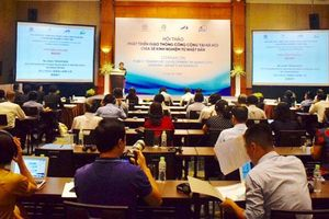 Phát triển giao thông công cộng tại Hà Nội, chia sẻ kinh nghiệm từ Nhật Bản