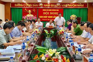 Hoàng Mai: Kiên quyết chấm dứt hợp đồng thuê đất đối với doanh nghiệp chây ì