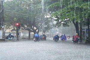 Thời tiết ngày 10.7: Bắc Bộ mưa dông, Trung Bộ tiếp tục nắng nóng diện rộng