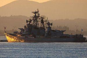 Tàu tuần tra Nga đi vào khu vực pháo kích của NATO