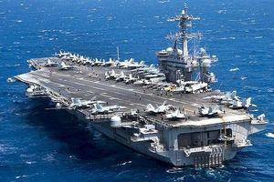 Iran cảnh báo sẽ 'xóa sổ' tàu sân bay Mỹ tại vùng Vịnh nếu Washington mắc sai lầm