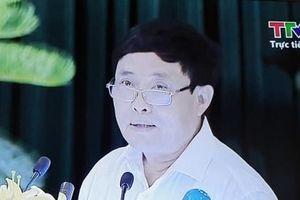 Yêu cầu kiểm điểm Giám đốc Sở TNMT Thanh Hóa vì 'lạc đề'