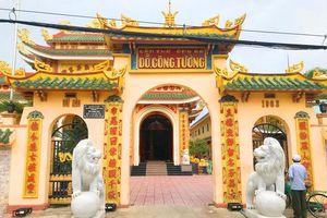 Đền thờ ông bà Đỗ Công Tường được công nhận di tích quốc gia