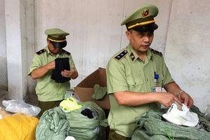 Thu giữ nhiều hàng hóa nhập lậu gắn mác 'Madein Vietnam'