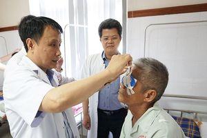 Cựu chiến binh Quảng Nam 83 tuổi hiến tặng giác mạc