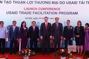 Bộ Tài chính và USAID khởi động dự án Tạo thuận lợi thương mại do USAID tài trợ