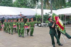Truy điệu và an táng hài cốt liệt sỹ tại Nghĩa trang liệt sỹ Quốc gia Vị Xuyên