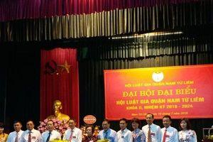 Hội Luật gia quận Nam Từ Liêm: Các hội viên đạt 100% phiếu tín nhiệm về dự Đại hội đại biểu toàn quốc Hội Luật gia Việt Nam