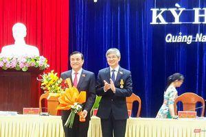 Ông Phan Việt Cường - Bí thư Tỉnh ủy Quảng Nam giữ chức Chủ tịch HĐND tỉnh