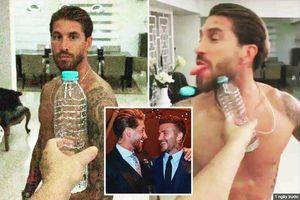 Dùng … lưỡi đẩy nắp chai, Ramos 'vô đối' trào lưu về lượt xem