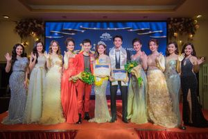 Siêu mẫu Tuân Lucas và dàn hoa khôi khủng hội ngộ trong đêm Gala Miss & Mister Hà Nội 2019