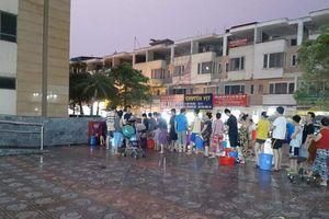 'Cuộc chiến' nước sạch Khu đô thị Tân Tây Đô: Chủ đầu tư ra 'tối hậu thư'