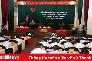 Kỳ họp thứ 9, HĐND tỉnh khóa XVII: Tiến hành phiên chất vấn và trả lời chất vấn