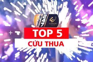 Top 5 pha cứu thua xuất thần ở vòng 14 V-League 2019