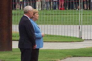 Thủ tướng Đức Merkel lại run rẩy trong lễ đón người đồng cấp Phần Lan