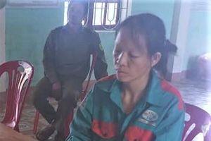 Nữ nông dân bị khởi tố
