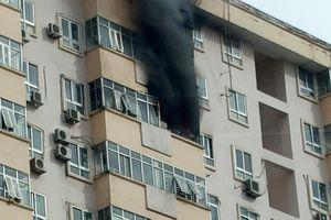 Cháy chung cư 17 tầng ở Hà Nội