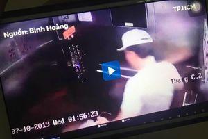 Người đàn ông Hàn Quốc đạp hỏng thang máy chung cư đã bồi thường