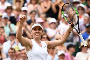 Simona Halep lần đầu vào chung kết Wimbledon