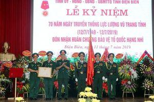 Kỷ niệm 70 năm Ngày truyền thống lực lượng vũ trang tỉnh Điện Biên